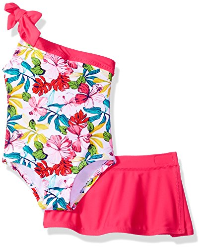 ac23cf48ea One-Pieces – Tommy Bahama Baby Girls 1-Piece Swimsuit and Sarong, Bright  Floral, 24M Offers