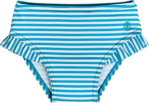 802e9d035a01c Rash Guard Shirts – Coolibar UPF 50+ Baby Girls' Swim Diaper Cover – Sun  Protective (12-18 Months- Scuba Blue Stripe) Offers | Projectors
