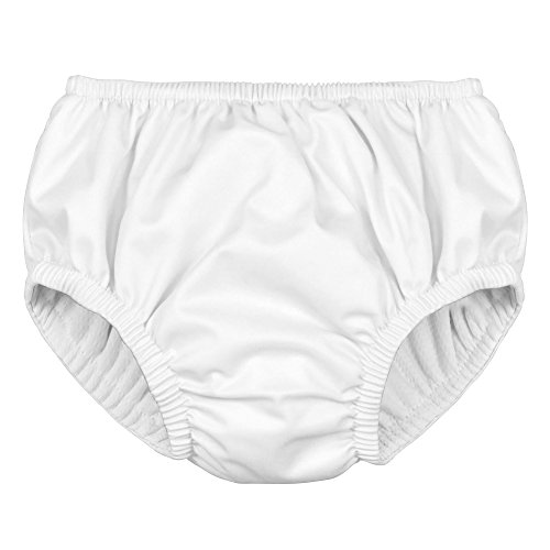 df611eaa99 Swim Diapers – i play. Baby Reusable Absorbent Swim Diaper Pull On White  (12 Months, White Pull On)